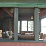 Island retreat screen porch